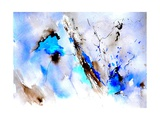 Abstract Blue 236874