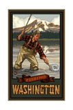 Mount Rainier National Park Fishing Washington