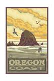 Haystack Rock Oregon Coast Pal 012