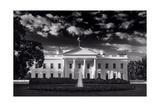 White House Sunrise B W