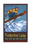 Ski Jump Mount Hood Oregon Pal 942