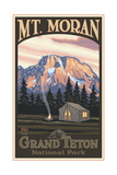 Mount Moran Grand Teton Tent Pal 045
