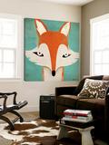 Fox Toile Murale Géante par Ryan Fowler