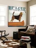 Beagle Canoe Co. Toile Murale Géante par Ryan Fowler