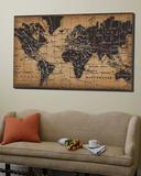 Carte ancienne du monde Toile Murale Géante par Pela
