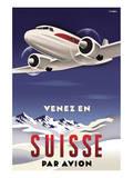Venez en Suisse par Avion