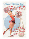Crystal Cola Reproduction d'art