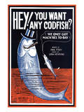 Song Sheet Cover: Hey! You Want Any Codfish