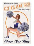 Cheer For Blue: Go Team Go!