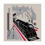 Bavarian Railway Reproduction d'art
