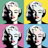 Icon in Colour Giclée par Clara Wells