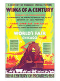 World's Fair  Chicago  Wings of a Century  c1934
