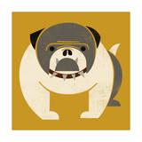 Plakastil Bulldog