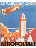 Au Maroc Par Avion  Aeropostale