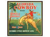 Florida Cowboy Brand Oranges & Grapefruits