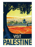 Visit Palestine Reproduction d'art par Franz Kraus