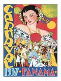 Carnaval  Panama  c1937