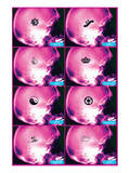 Female Brain Reproduction d'art
