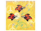 Peace Sign Ladybugs V
