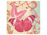 Fuschia Butterfly I