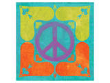 Peace Sign Quilt I