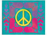 Peace Sign Quilt IV