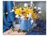 Magnolias and Narcissus