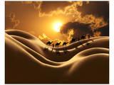 Camel Back Dream Reproduction d'art par Richard Desmarais