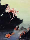 A Painting of Galapagos Islands Marine Life