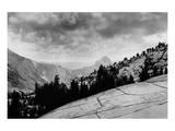 Flat Rocks  Yosemite National Park  California