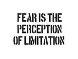 Fear And Limitation