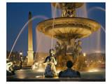 Fountain Place de la Concorde