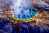 Grand Prismatic Spring  One of the Largest and Most Beautiful Hydrothermal Features