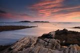 The Sunset over Casco Bay