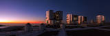 Dusk at the Very Large Telescope Operated by the European Southern Observatory on Cerro Paranal