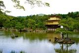 Kyoto's Kinkaku Golden Pavilion at Rokuon-Ji Temple