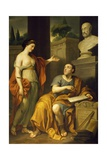 Allegorical Portrait of James Caulfield  Lord Charlemont