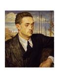 Portrait of Henry De Montherlant  1923