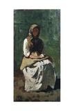 Peasant Woman at Montemurlo  1862