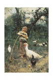 The Guardian of the Chickens  1877