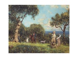 The Olive Harvest  1875