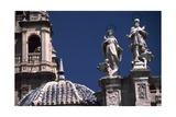 Facade of Cathedral of Santa Maria  Murcia  Spain