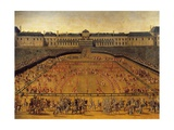 France  Paris  Carousel Offered by Louis XIV at Tuileries on June 5  1662