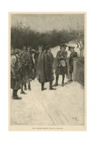 Paul Revere Bringing News to Sullivan