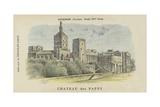 Chateau Des Papes  Avignon  Vaucluse