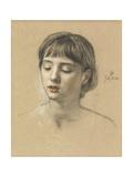 Head of a Girl  1883