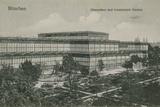 Glaspalast and Botanical Garden  Munich