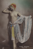 Maguitte  Dancer at the Folies Bergere