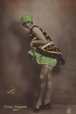 Darty  Dancer at the Folies Bergere