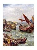 Departure of the Romans